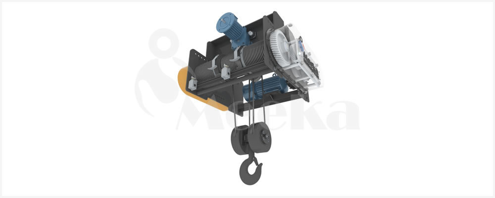 Power Travel Wire Rope Hoist